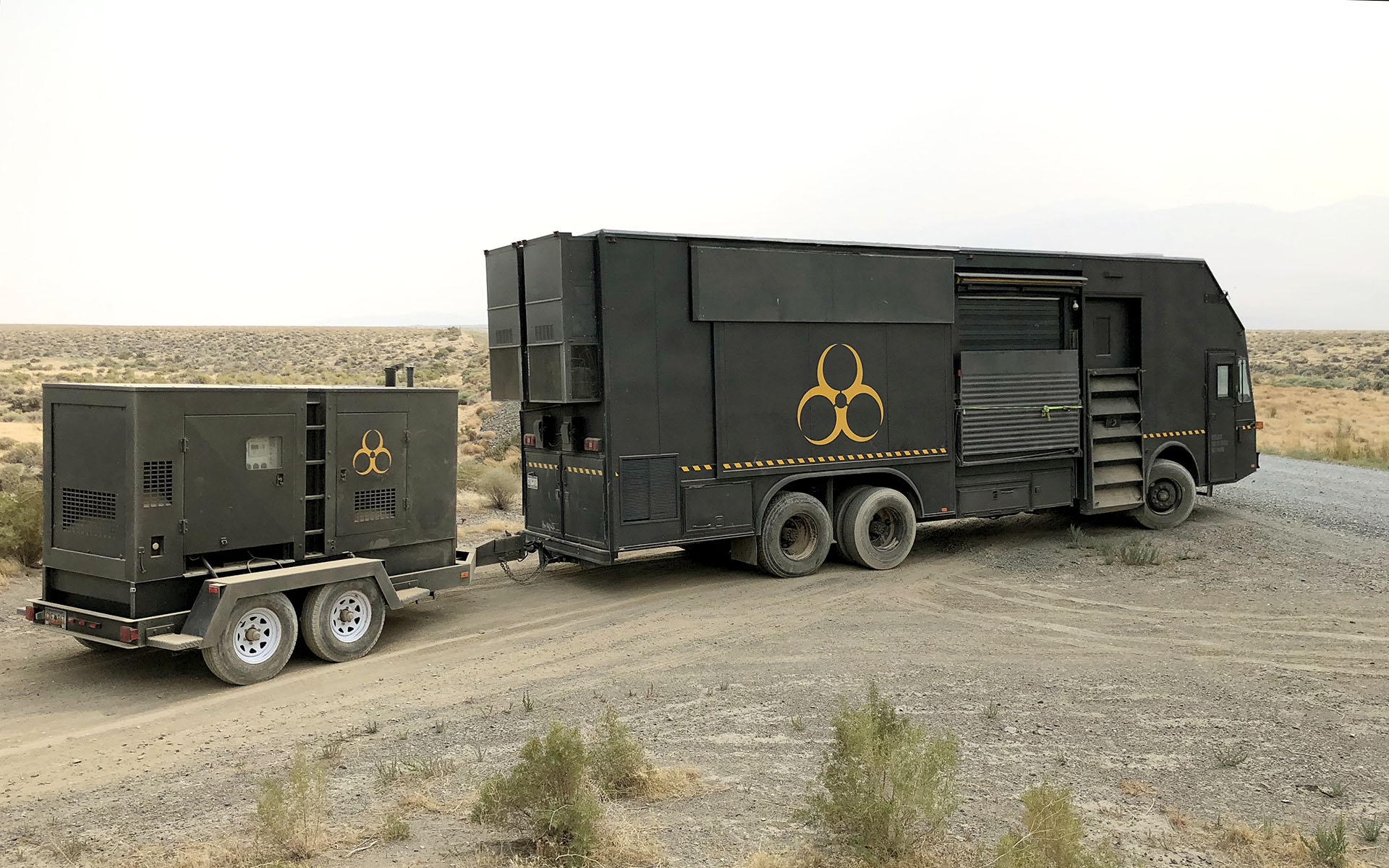 Pathogen Trackers Mutant Response Vehicles