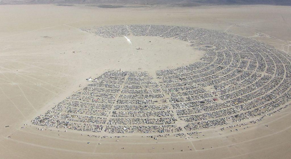 Burning Man Playa